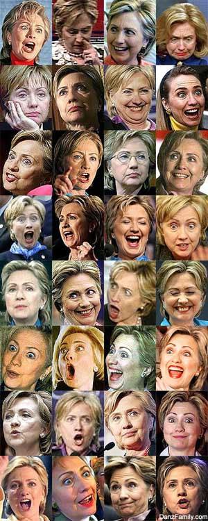 Лицо Клинтон