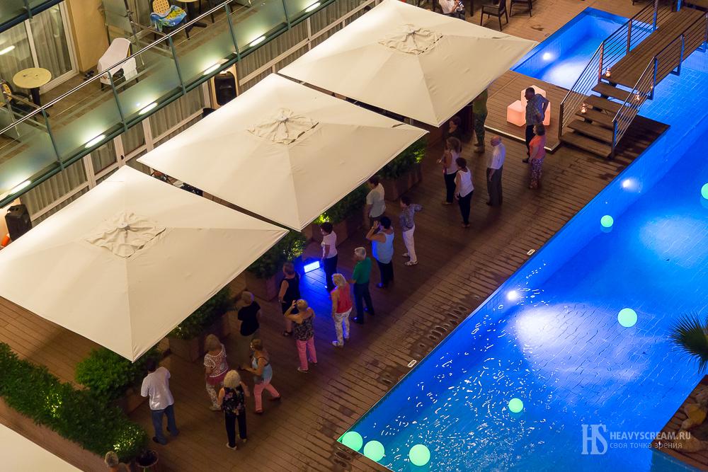 """Тематический вечер в отель """"Кактус"""", Калелья, Испания."""