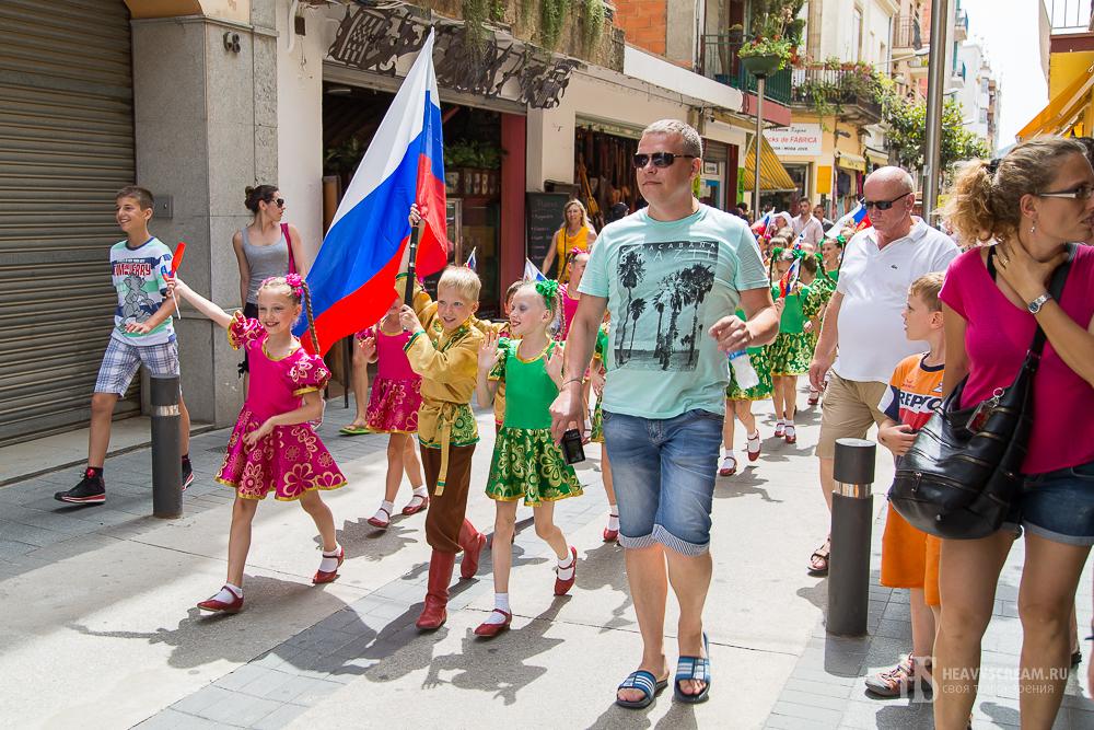 Фестиваль De folklore Alegria. Россия.