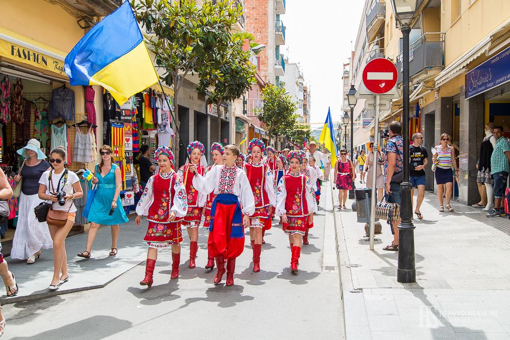 Фестиваль De folklore Alegria. Украина.