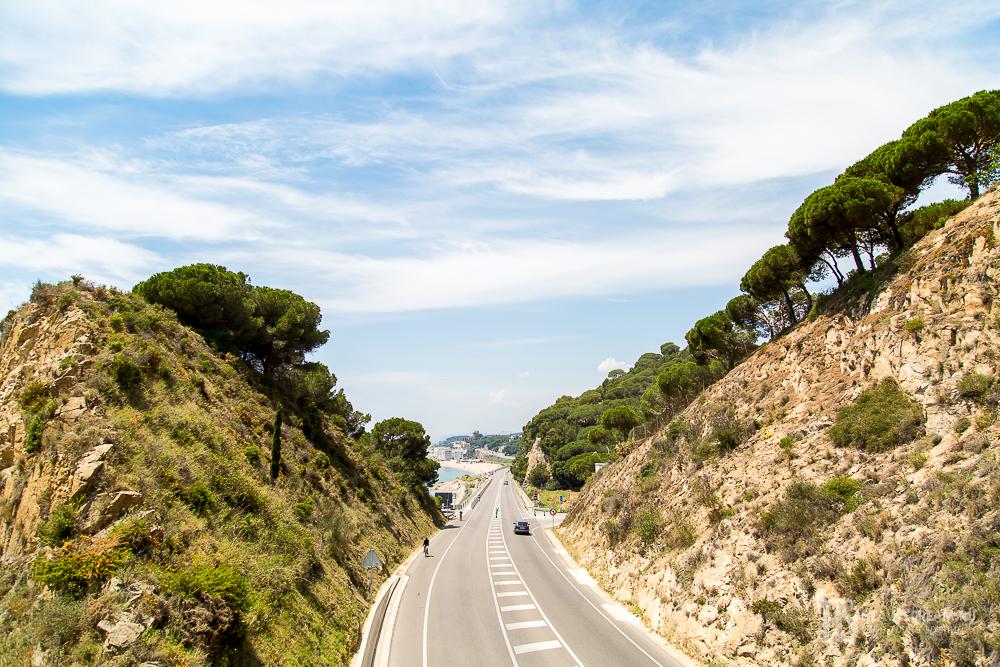 Дорога на Сант Пол де Мар